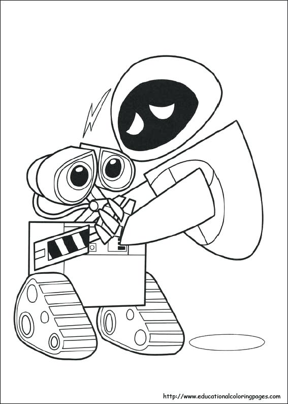 567x794 Wall E Coloring Page Best Wall E Coloring Pages About Remodel