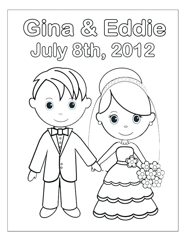 618x800 Corpse Bride Coloring Pages Bride And Groom Coloring Page Bride