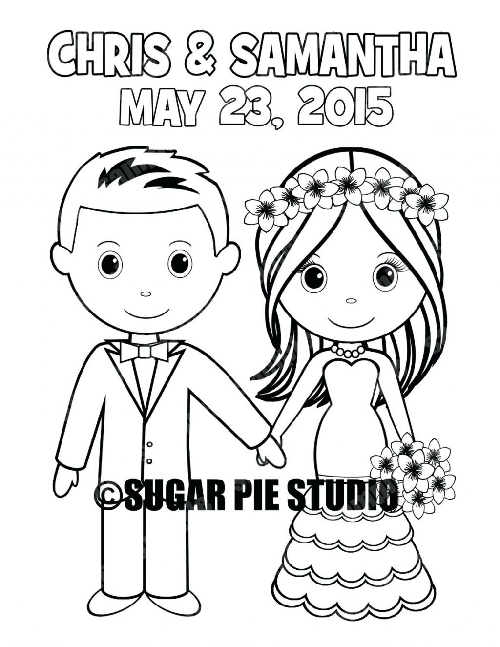 1024x1325 Coloring Page Bride And Groom Coloring Pages Zoom Free Printable
