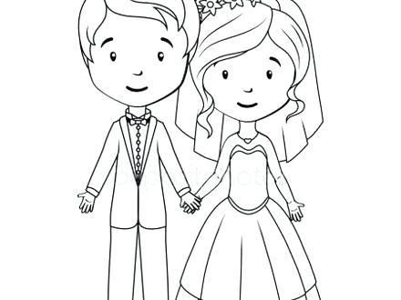 440x330 Bride Coloring Pages Free Coloring Pages Printable Bride And Groom