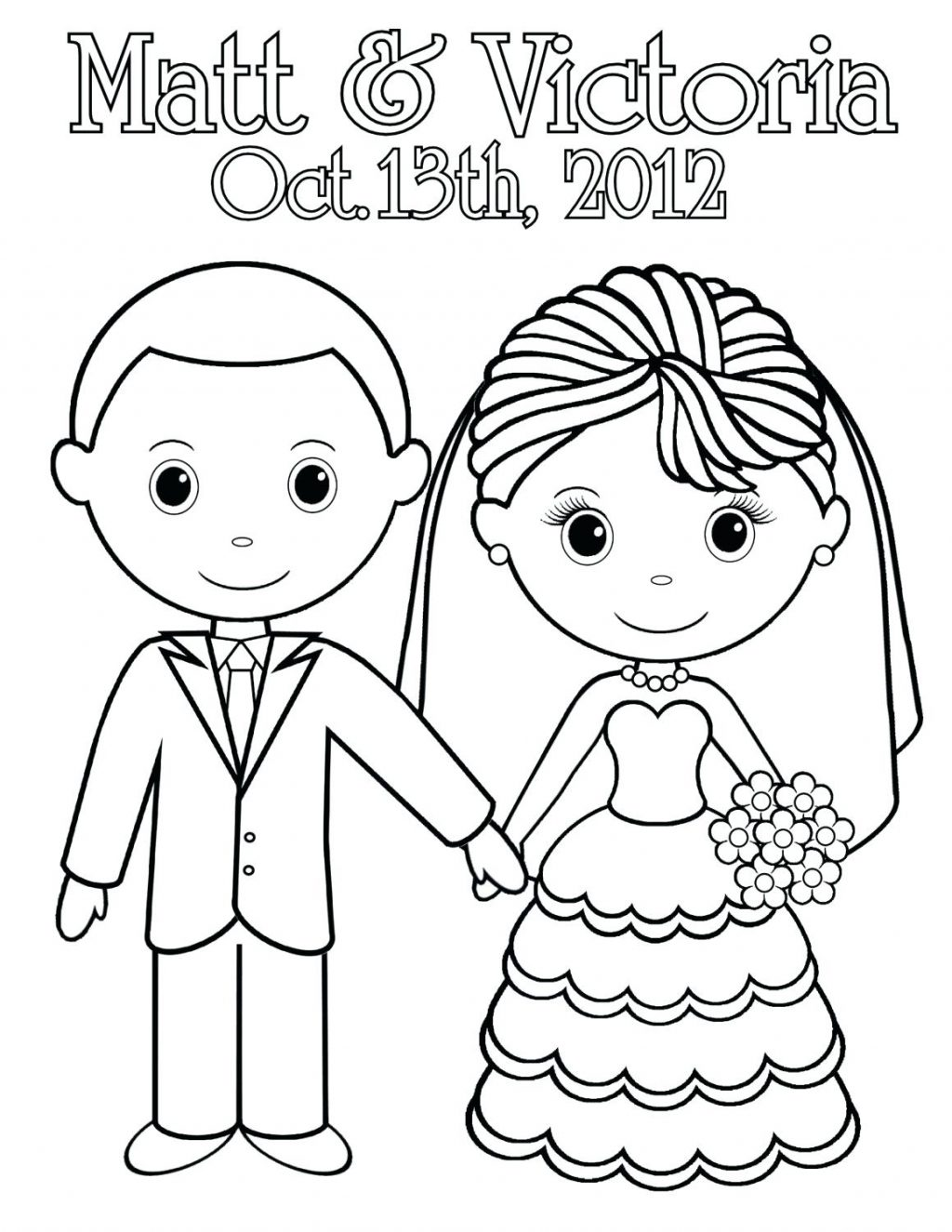 1024x1325 Coloring Page Bride And Groom Coloring Pages Printable Colouring