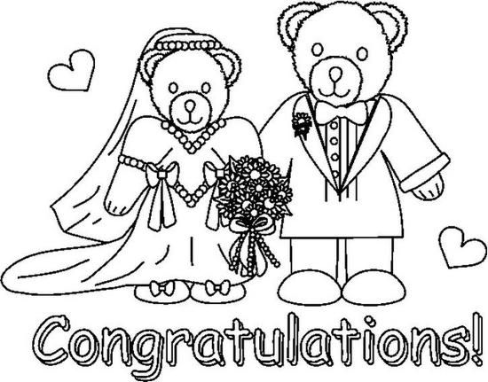 550x431 Anniversary Coloring Pages Bride And Groom Coloring Pages
