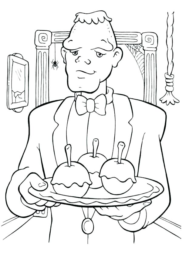 600x840 Frankenstein Coloring Page Bride Of Coloring Pages Coloring Page
