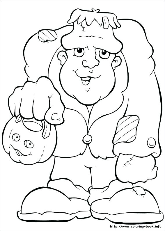 567x794 Frankenstein Coloring Page Coloring Frankenstein Coloring Pages