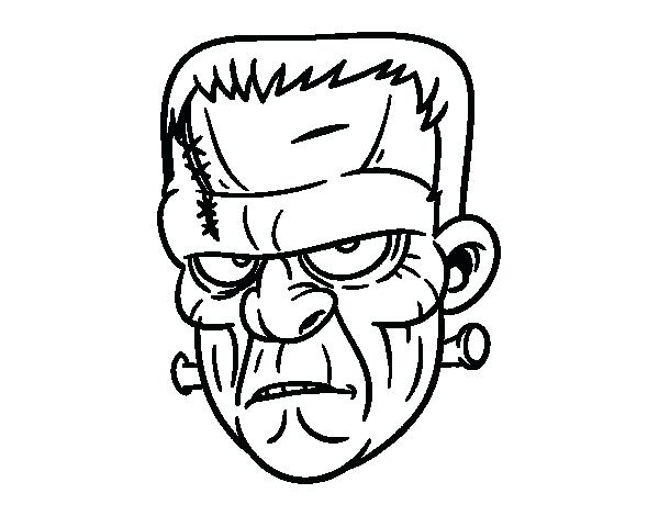 The Best Free Frankenstein Coloring Page Images Download From 177