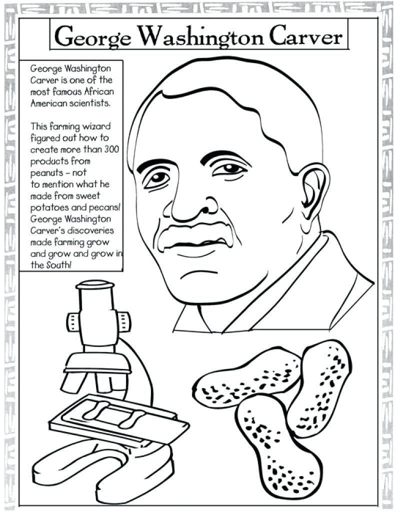790x1024 George Washington Bridge Coloring Pages President Page Carver Pdf