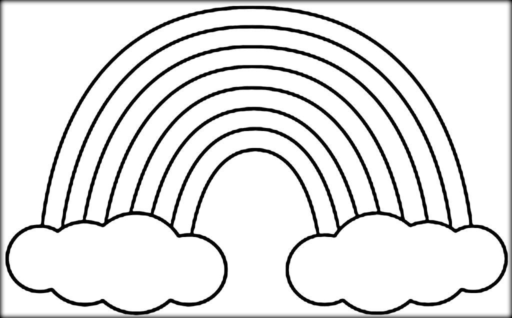 1024x636 Rainbow Bridge Coloring Page Fiscalreform Bright Pages Of Rainbows