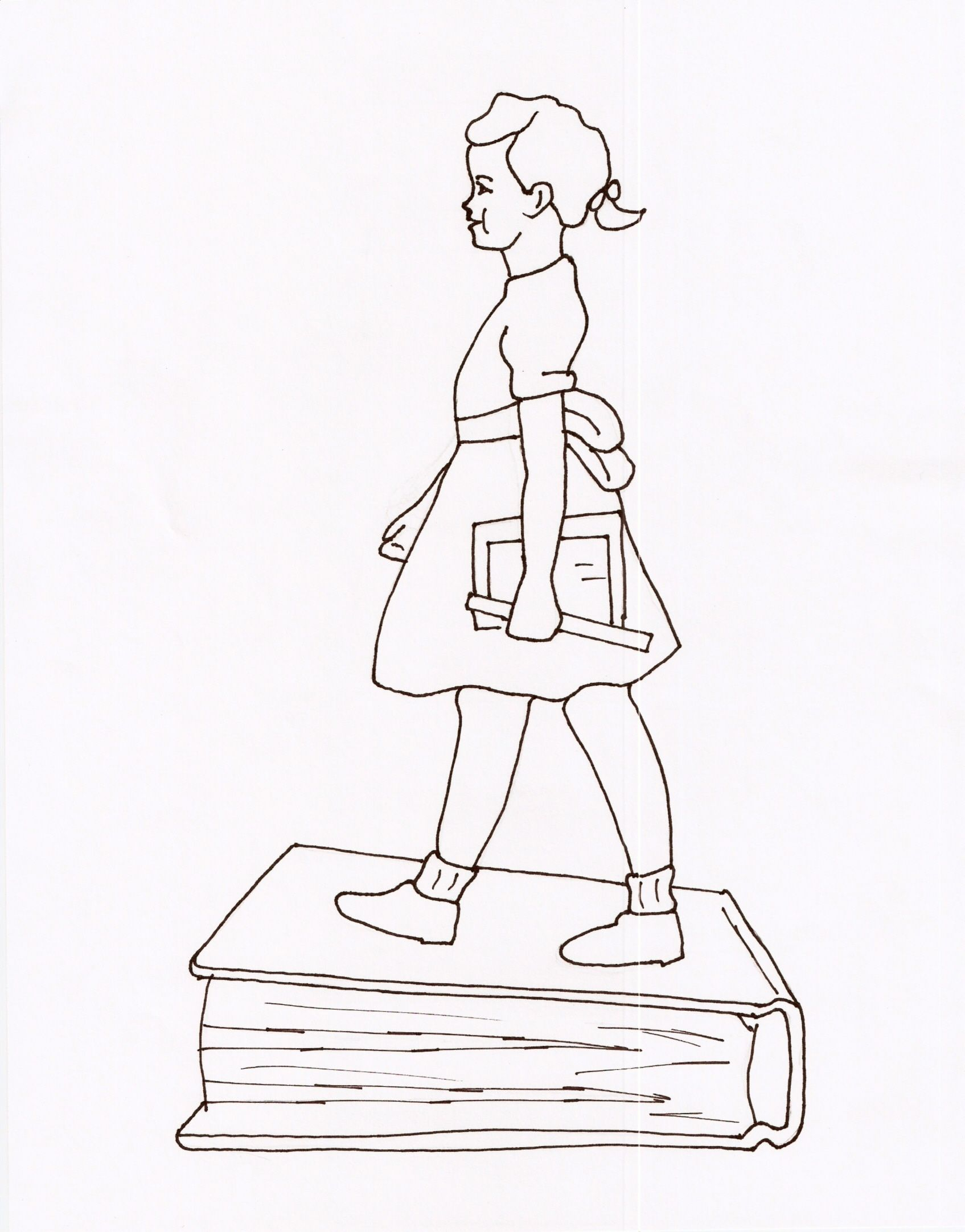 1695x2165 Ruby Bridges Goes To School