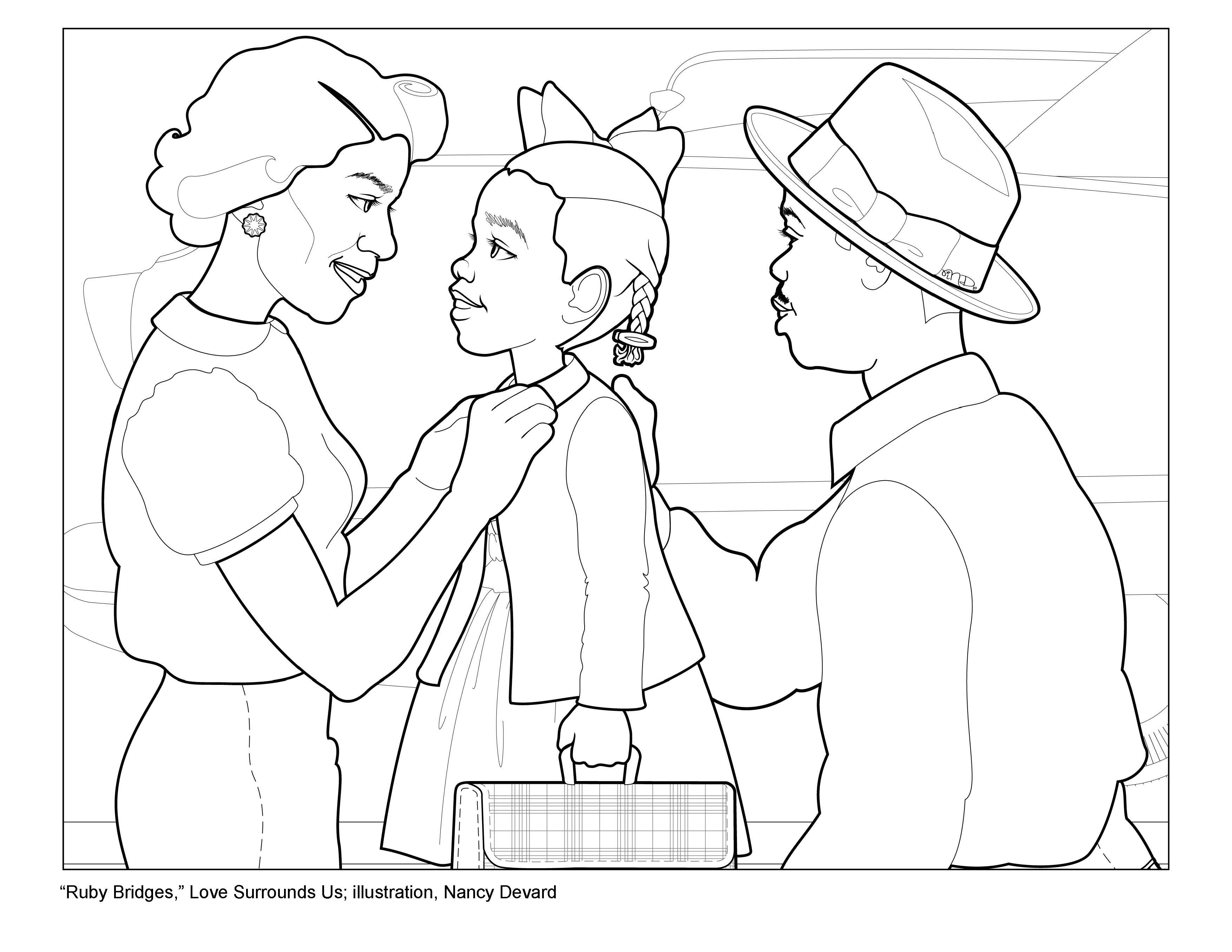 3509x2712 Bridge Coloring Pages Free Printable Pictures Arresting Page