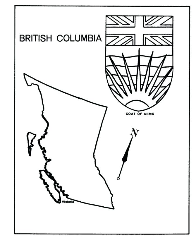 British Flag Coloring Page