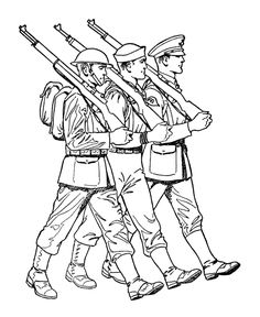 British Soldier Coloring Pages