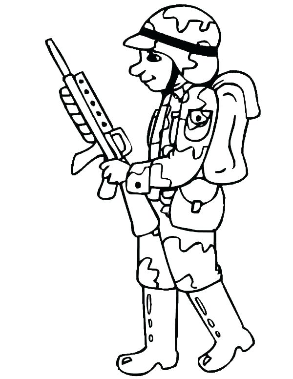 600x776 Soldier Coloring Pages Soldier Coloring Pages Soldier Coloring