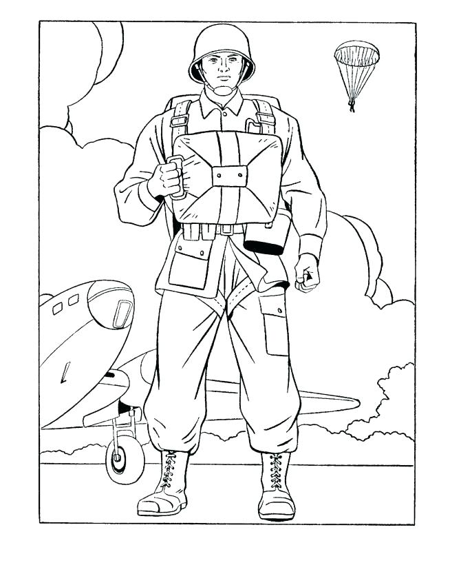 670x820 Soldiers Coloring Pages