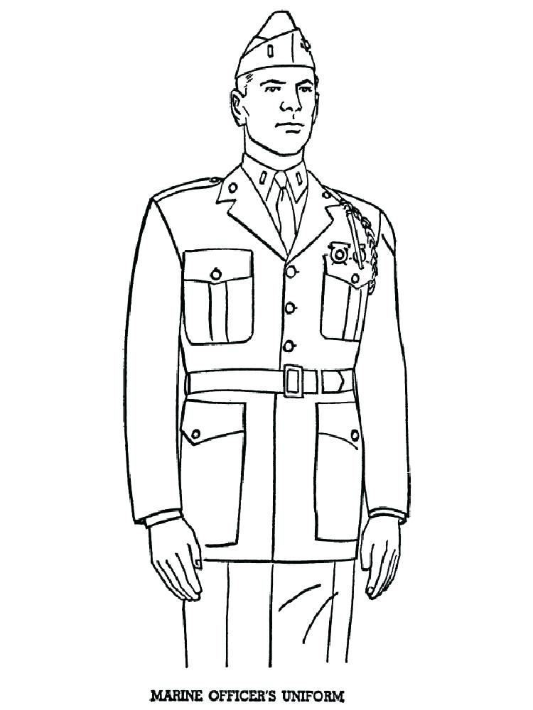 750x1000 Soldiers Coloring Pages