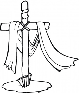308x360 Christian Easter Coloring Pages Great Idea Lifestyles