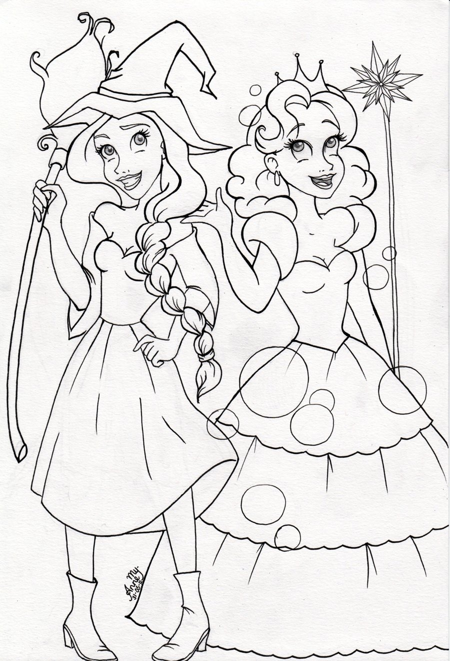 900x1320 Wicked Musical Coloring Pages