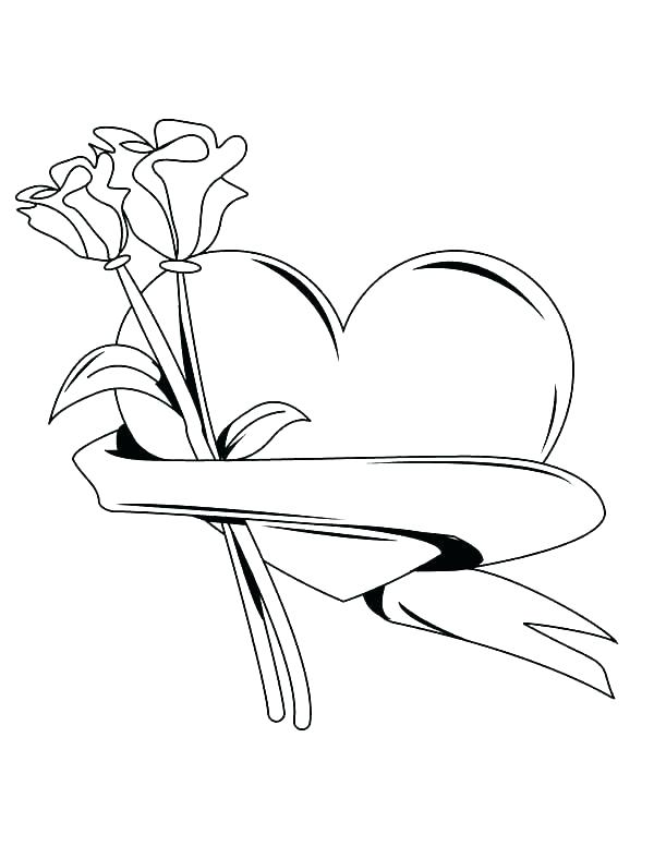600x776 Heart Coloring Pages Healthy Heart Coloring Pages Heart Coloring