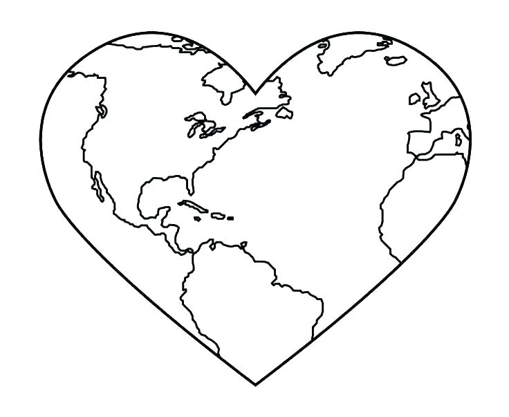 736x603 Heart With Wings Coloring Pages Heart Coloring Page Coloring Pages