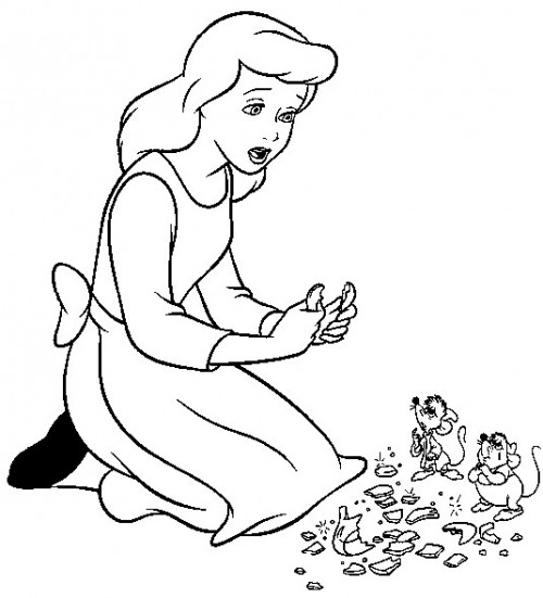 500x551 Disney Cartoons Coloring Pages