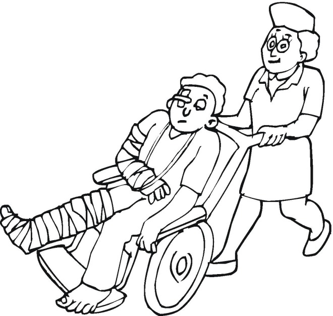 660x626 Medicine Coloring Pages