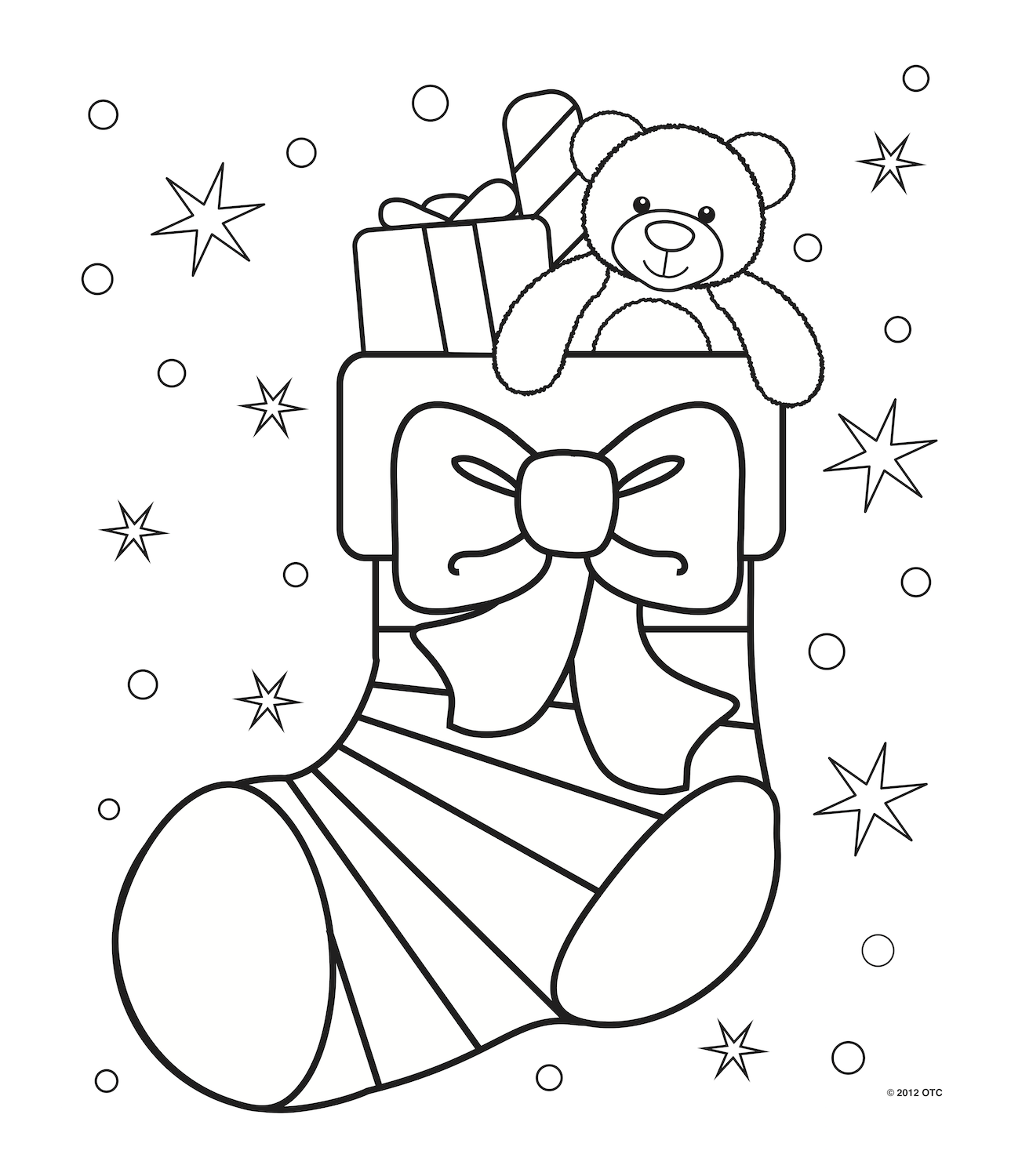 1289x1500 Christmas Coloring Pages