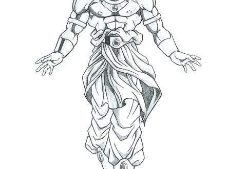 440x330 Broly Coloring Pages Coloring Pages Normal Coloring Pages Coloring