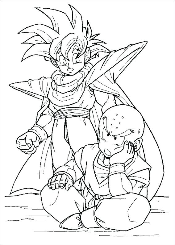 567x794 Broly Coloring Pages Dragon Ball Z Printable For Kids Find On Book