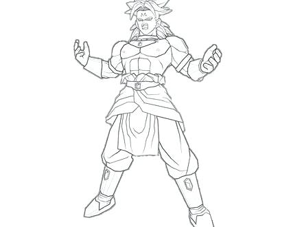 440x330 Broly Coloring Pages Free Coloring Pages Of Dragon Ball Z Broly