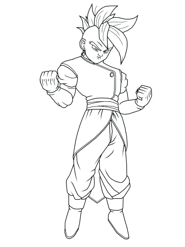 600x800 Broly Coloring Pages Printable Dragon Ball Z Coloring Pages