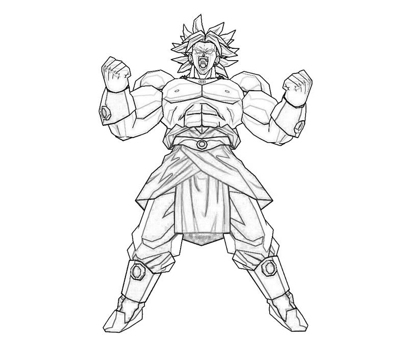 800x667 Broly Coloring Pages Coloring Pages, Broly Coloring Page