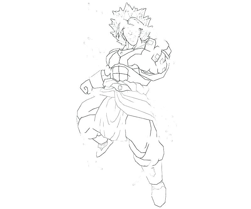 800x667 Dragon Ball Z Coloring Pages Free Coloring Pages Broly Coloring
