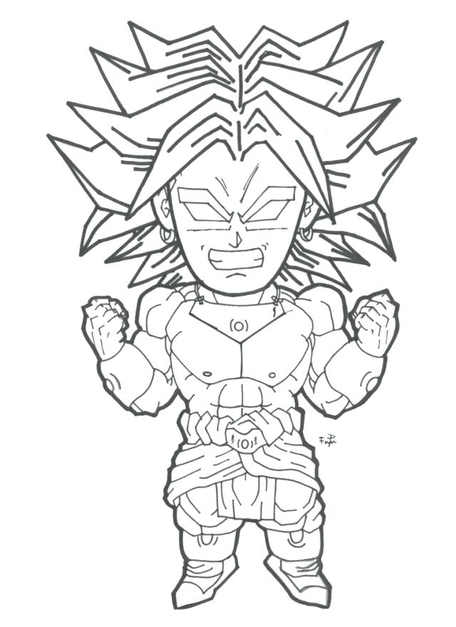 640x881 Broly Coloring Pages Coloring Page More Like Greatest Warrior
