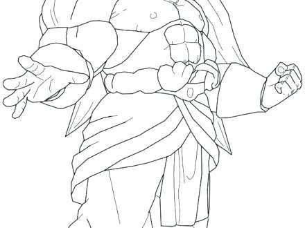 440x330 Broly Coloring Pages Coloring Pages Awesome Coloring Pages Super