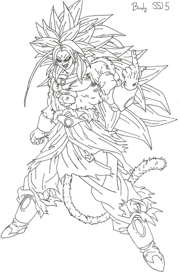 600x909 Broly Coloring Pages Coloring Pages Broly The Legendary Super