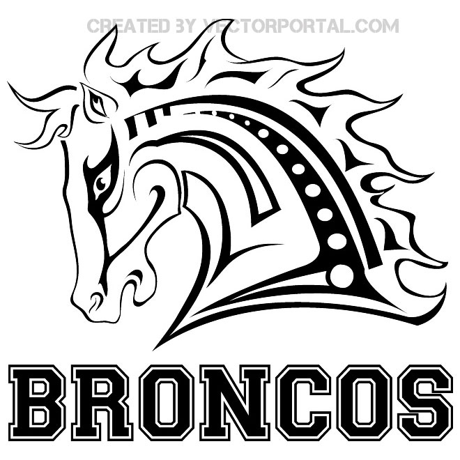 660x660 New Broncos Coloring Pages Logo And Design Ideas