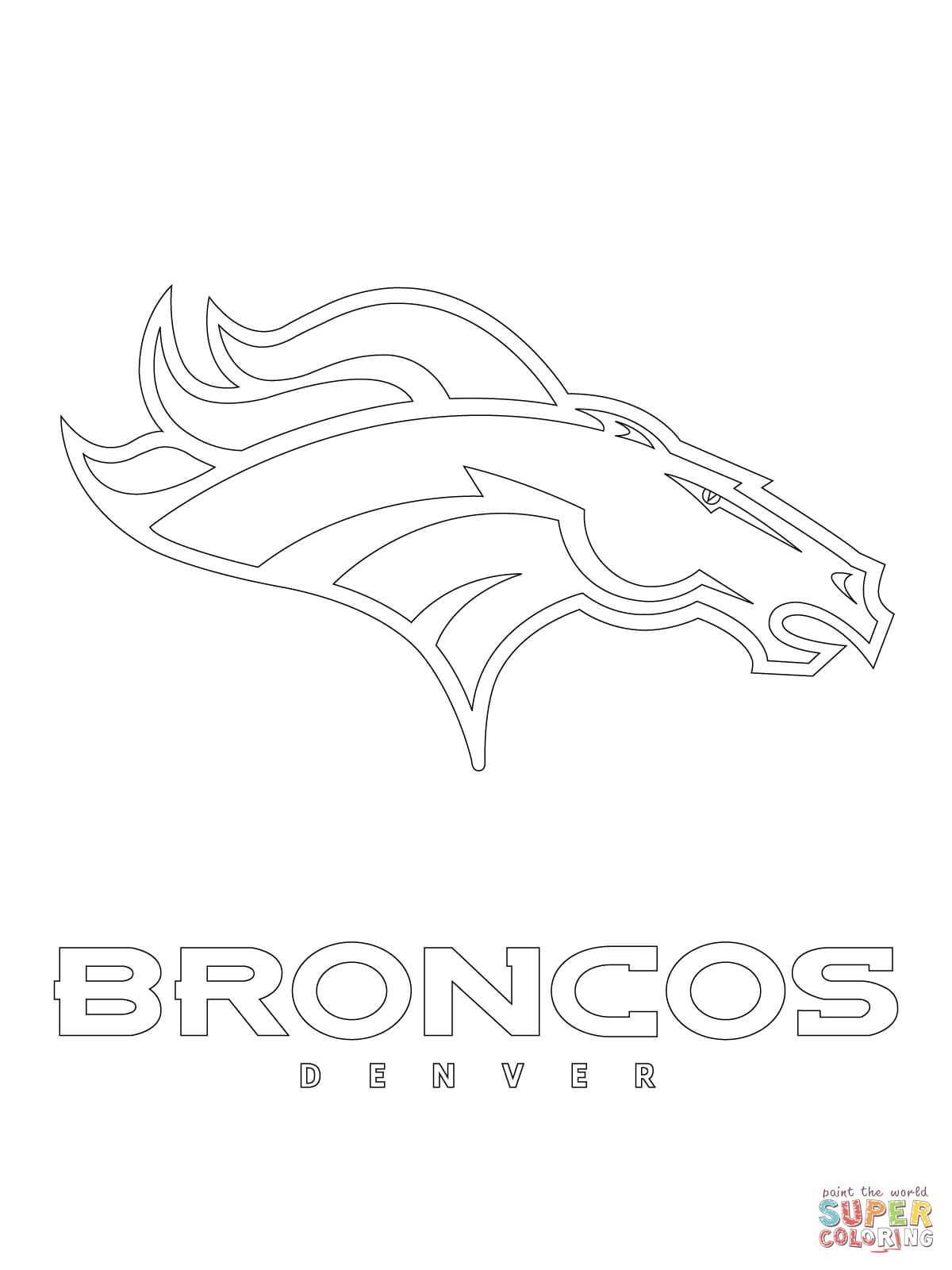 1200x1600 Denver Broncos Coloring Pages Free