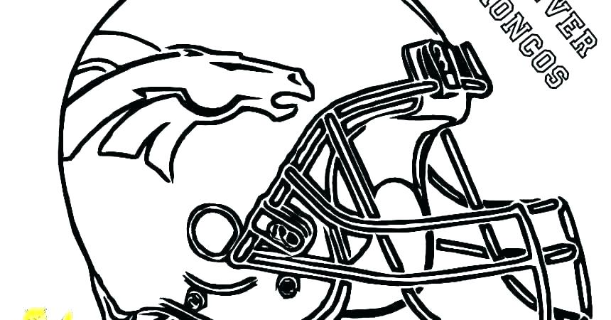 Broncos Coloring Pages At GetDrawings Free Download