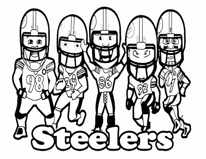690x535 Nfl Coloring Pages To Print Pics Nfl Coloring Page Broncos