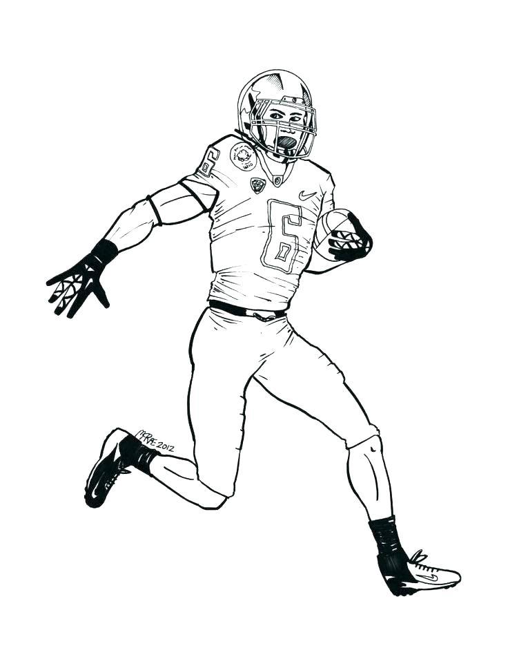 736x951 Printable Denver Broncos Logo Stencil Broncos Mascot Coloring