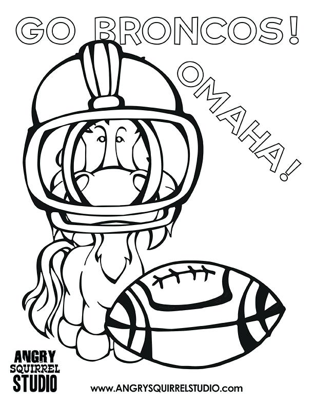 612x792 Boise State Broncos Coloring Pages