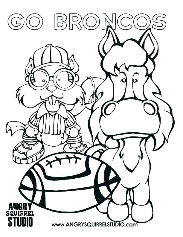 612x792 Broncos Coloring Page Broncos Coloring Pages Broncos Coloring
