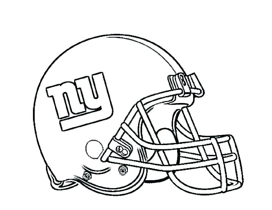 900x695 Football Helmet Coloring Page Giants Coloring Pages Football