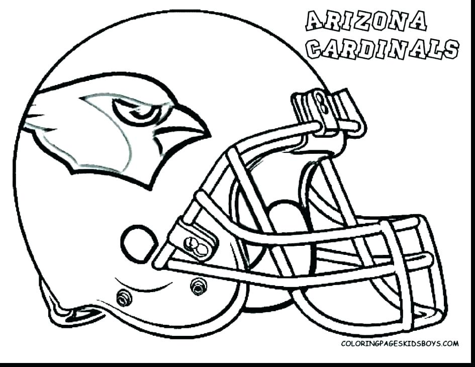 945x730 Football Helmet Coloring Page Helmet Coloring Page Broncos