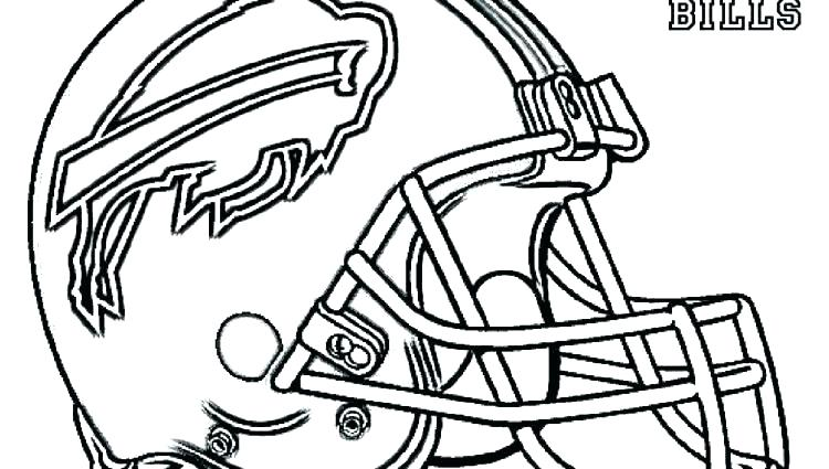 750x425 Football Helmet Coloring Pages Helmet Coloring Pages Football