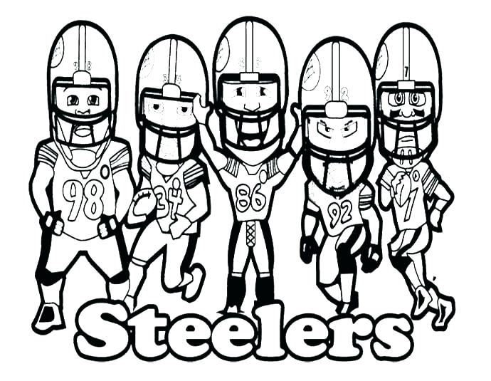 690x535 Nfl Coloring Pictures