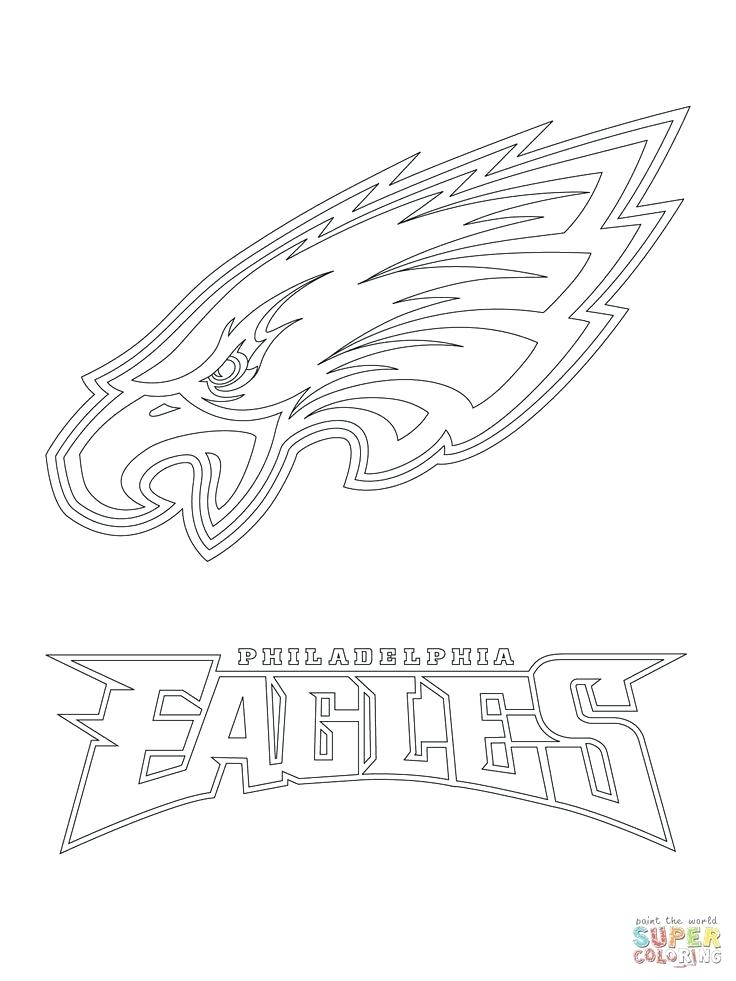 736x981 Free Printable Denver Broncos Logo Logo Coloring Page