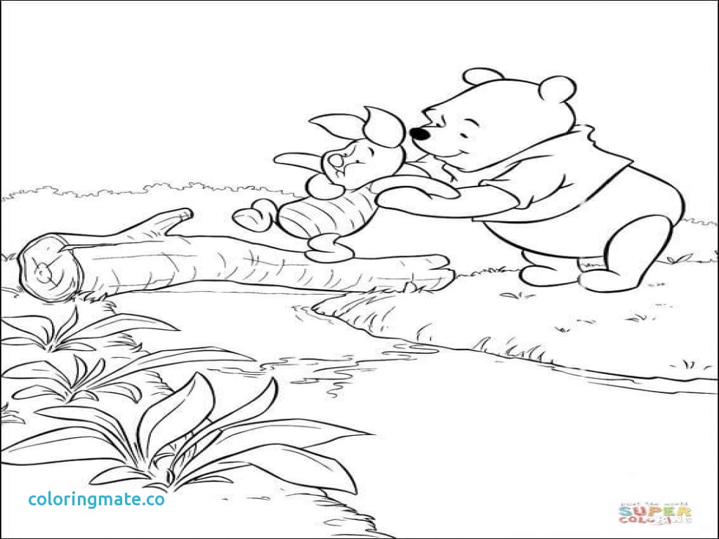 1024x768 Winnie The Pooh Coloring Pages