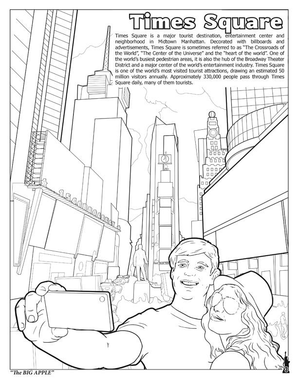 612x792 Coloring Books New York City