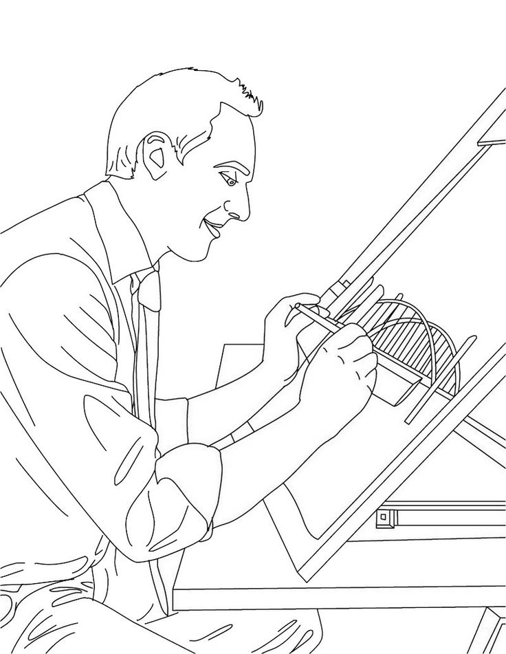 736x951 Best Profession Coloring Pages Images On Fun