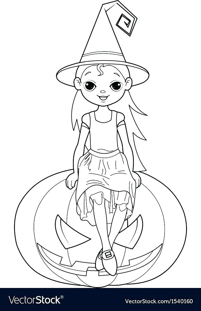 700x1080 Halloween Witch Coloring Page Witch Coloring Pages Little Page